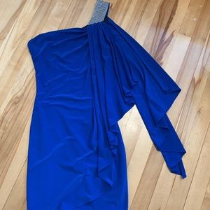 Le Château - Royal Blue Dress (Only Worn Once!)
